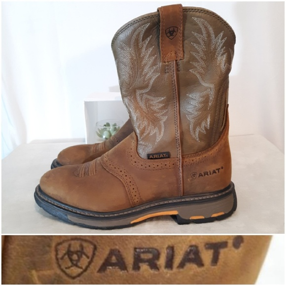 2d7e5768289 Ariat Workhog Pull On Boots